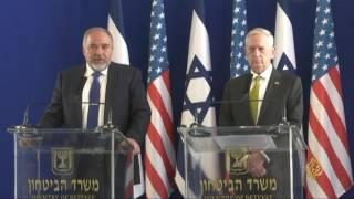 وزير الدفاع الأميركي في إسرائيل لترسيخ التحالف