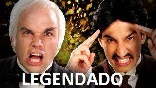 Nikola Tesla vs Thomas Edison - LEGENDADO - Epic Rap Battles of History Season 2