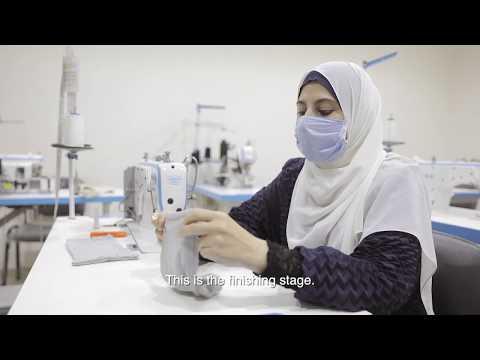 السوريات في مصر يستجبن لكوفيد١٩ من خلال دعم مجتمعاتهن للوقاية منه