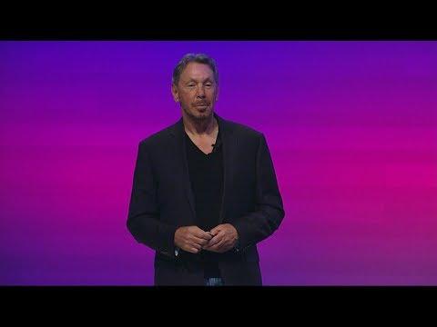 Larry Ellison Introduces Oracle Autonomous Database Cloud