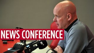 NEWS CONFERENCE | Steve Agnew on Swansea City