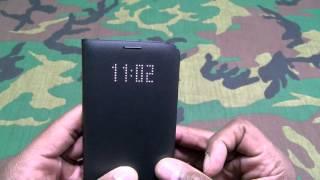 Samsung Galaxy S7 Edge LED View Flip Cover