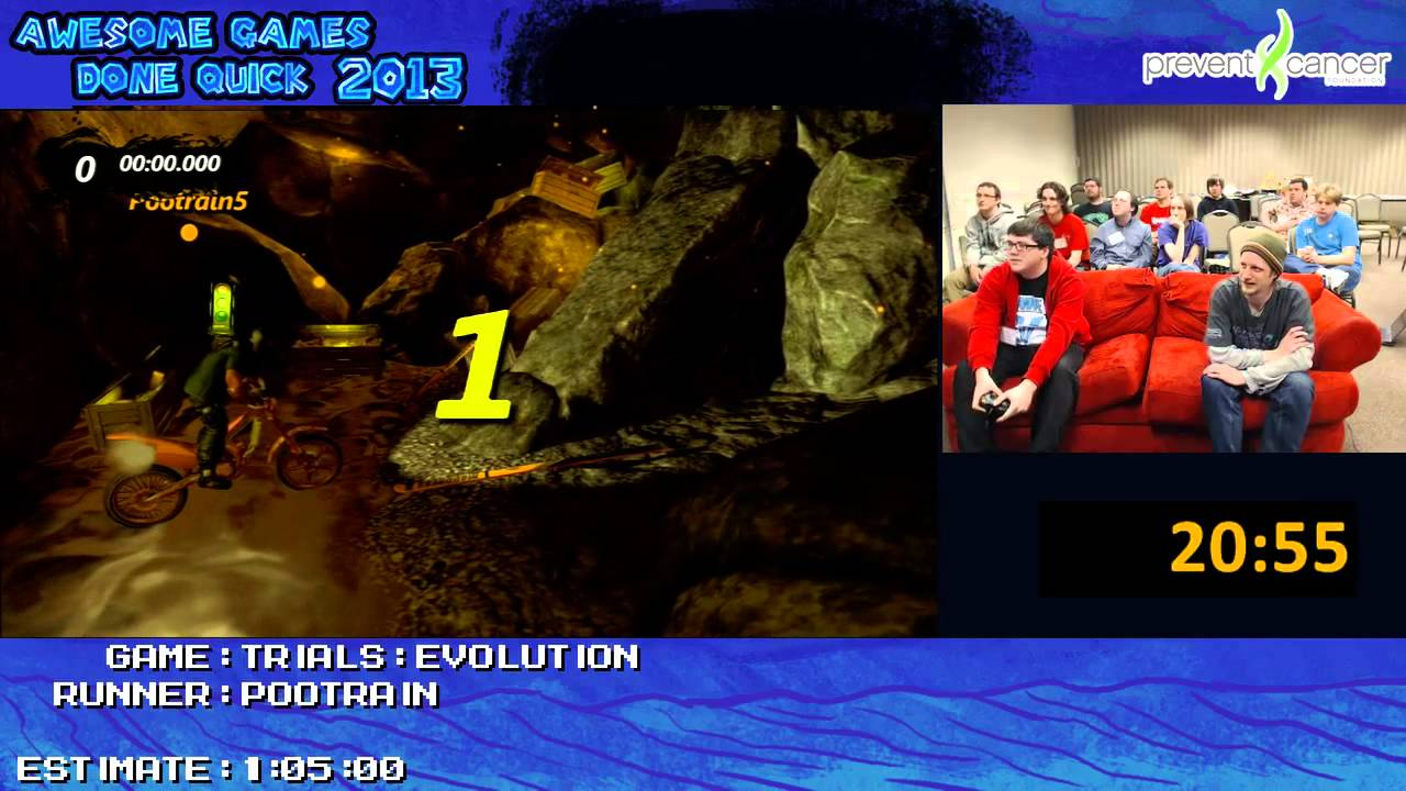 Trials Evolution Speed Run 1 06 39 Live At Awesome