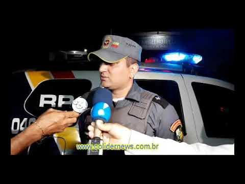 Após ameaçar matar colegas de Faculdade Academico e preso em Colíder. (Vídeo)