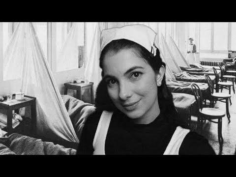 ASMR ENFERMEIRA NA GUERRA CUIDANDO DE VOCÊ   BINAURAL