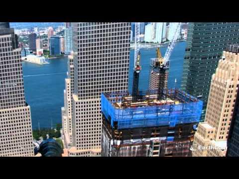 Vídeo mostra a construção do One World Trade Center, em Nova York