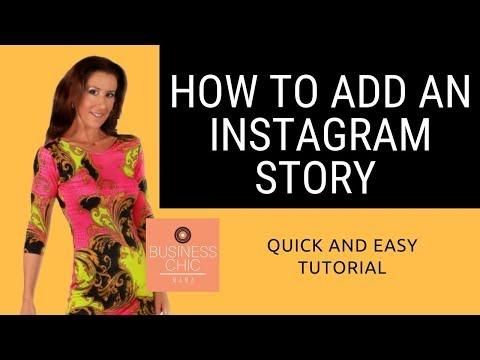 How to Add an Instagram story.  Adding Instagram stories to your bio.Tutorial Instastory.