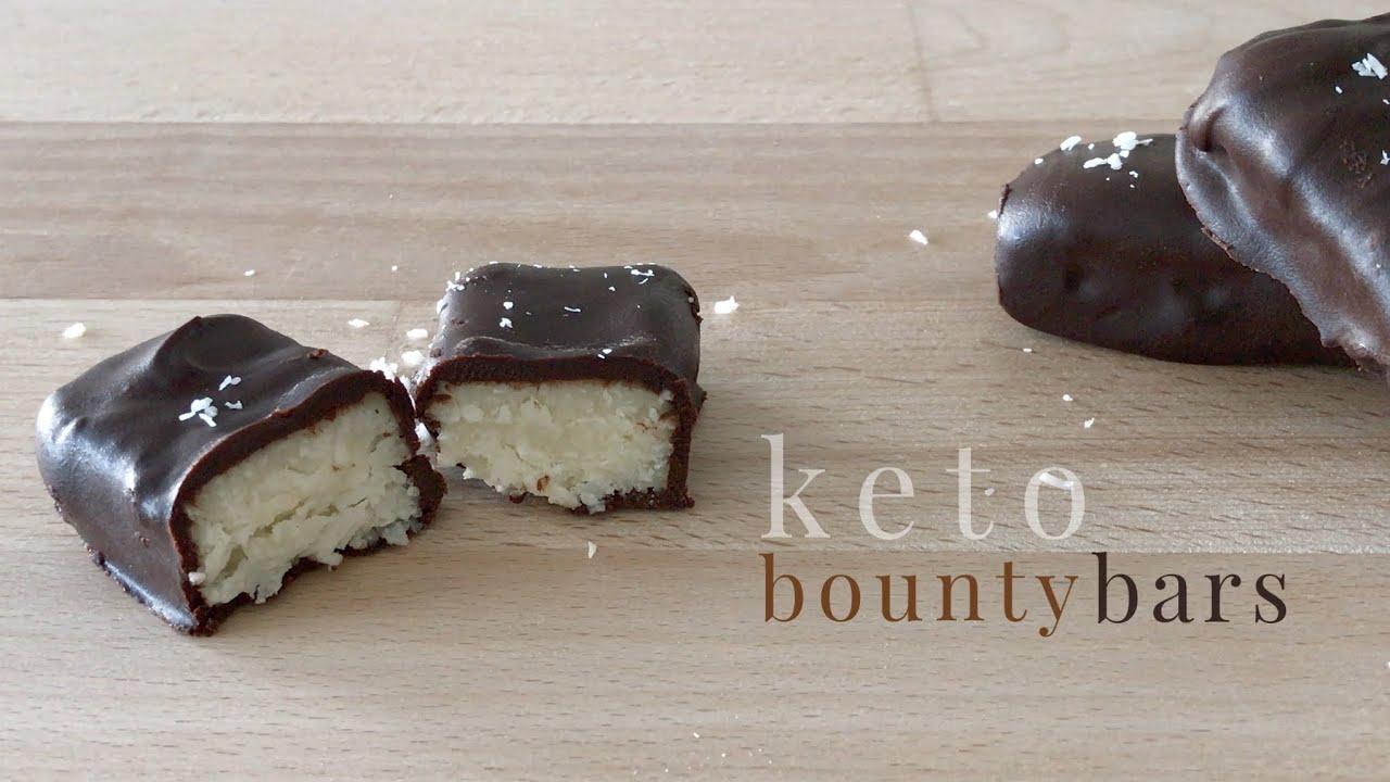 Keto Bounty Bars