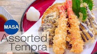 綜合天婦羅/Assorted Tempura |MASAの料理ABC