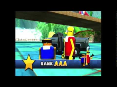 Sonic & SEGA All-Stars Racing Mission 42 Monkey Trouble AAA