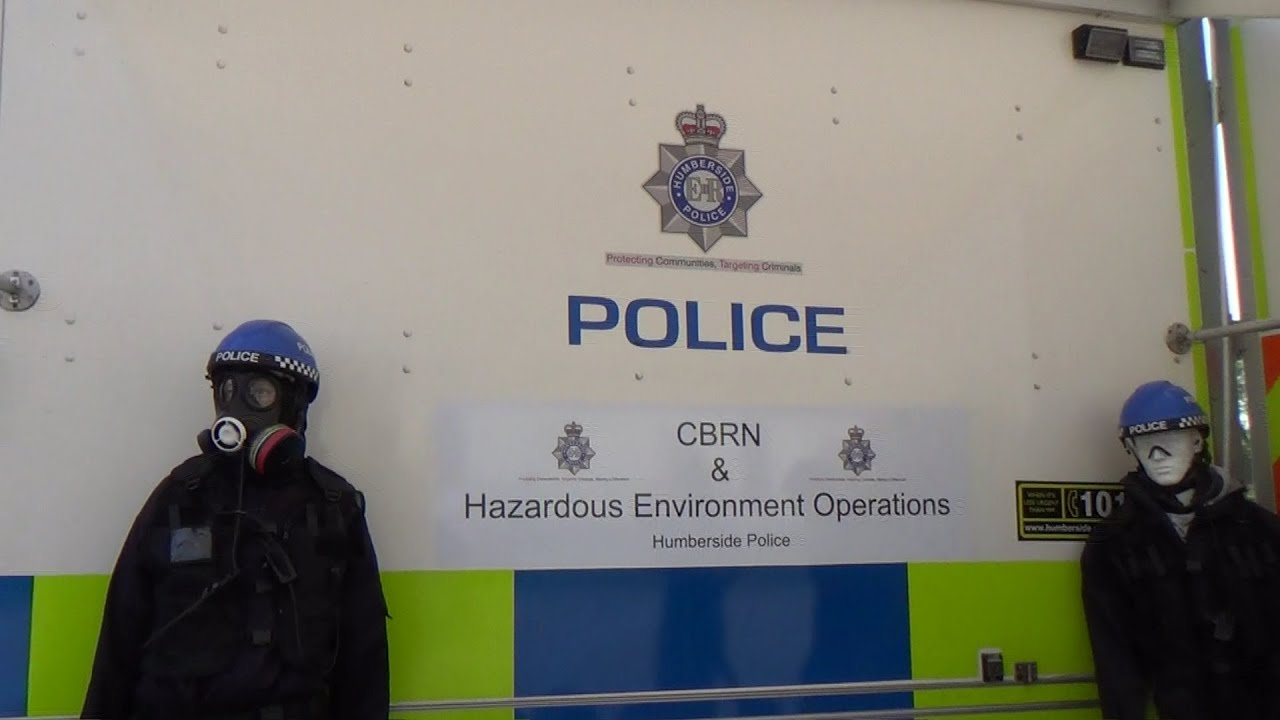 Humberside Police - CBRN & Hazardous Environment Operations Iveco Daily at  Rescue Day 2014