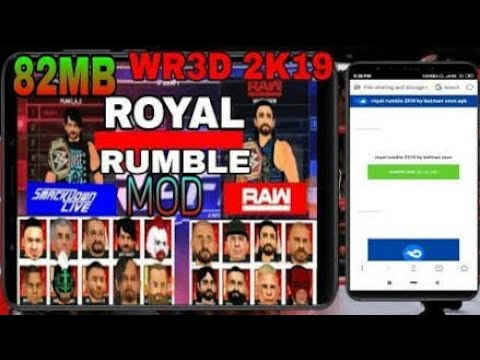 How to download wr3d 2k18 mod 37 mb best ever mod link in