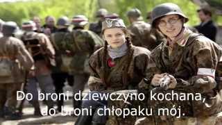 Dziewczyna z granatem - Tekst