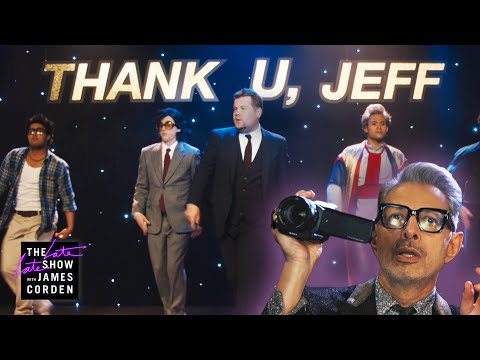 Trending HQ - Jeff Goldblum's 'Thank U, Jeff' is the Ultimate Ariana Grande Parody