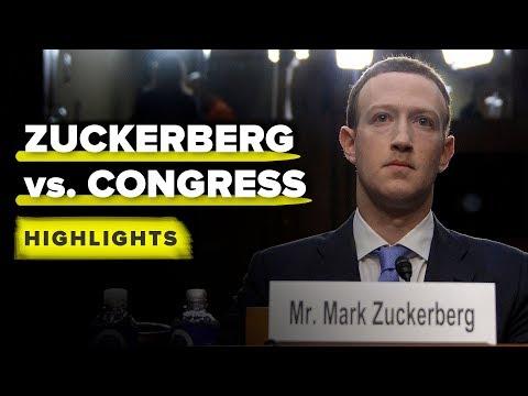 Zuckerberg's Senate hearing highlights in 10 minutes