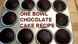 One Bowl Chocolate Cake Recipe, How To Diy, Vegan