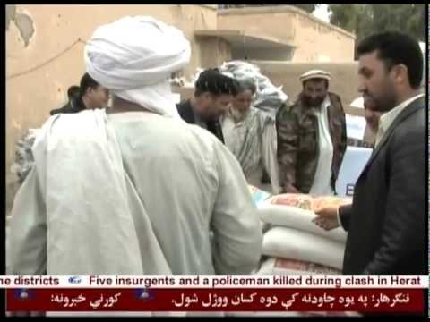 Bayat Foundation Donates Food & Clothes to Flood Affected Families - Helmand, Afghanistan
