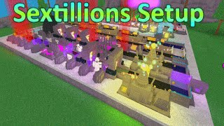 [Miner's Haven: ROBLOX] - Sextillion Setup