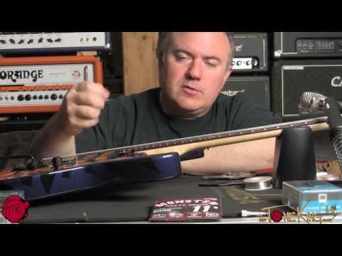 How to CHECK STRING GAUGE to Save $$ on Guitar SETUPS!