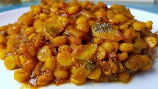 Чоле (Чана) масала, цыганка готовит.💃 Нут по-индийски. Постное блюдо. 👳♂️Gipsy cuisine.🇮🇳👍