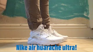 NIKE AIR HUARACHE ULTRA REVIEW!!!+ ON FEET REVIEW