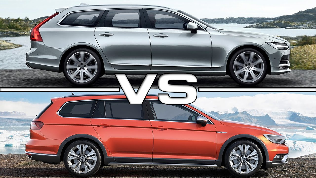 Volvo V90 Vs Vw Passat Alltrack Youtube