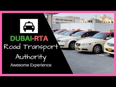 Dubai RTA Road Transport Authority