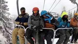 Snowboard - Portes du Soleil - Avoriaz - Feb15