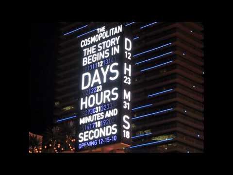 The Cosmopolitan Las Vegas - Grand Opening Countdown