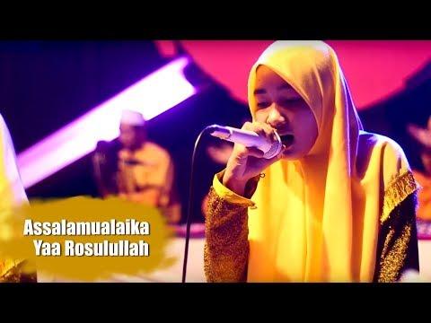 Assalamualaika ya rasulullah (cover Zerofaza) - LIVE IN ponpes Nurul Qodim 2017 VIDEO FULL HD
