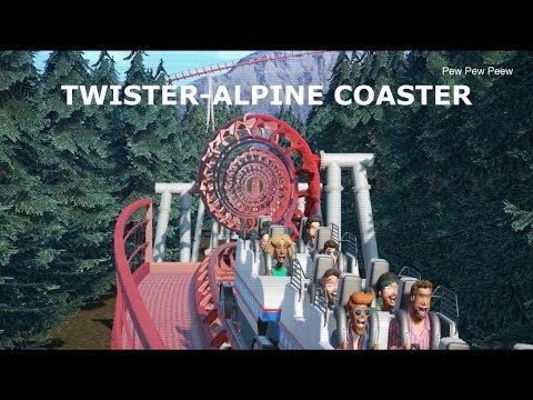 Planet Coaster: Twister-Alpine RollerCoaster