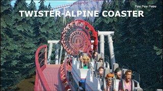 Planet Coaster: Twister-Alpine RollerCoaster
