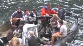 съёмки фильма Кустурицы в главной роли Моника Белучи(Боснийские водопады)