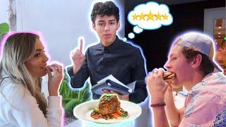 Serving My Friends 5 STAR MEALS!! (Drew's Kitchen)