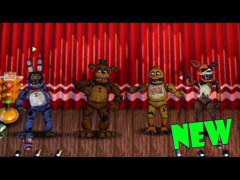 (FNAF6 Mod) New! Classic Withered Animatronics - FFPS