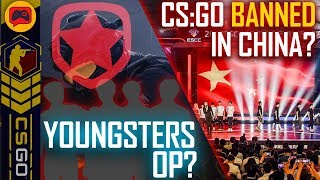 CSGO News | China to Ban CSGO, Gambit Fall Below Academy Team, ForZe #1 and CS Summit 4!