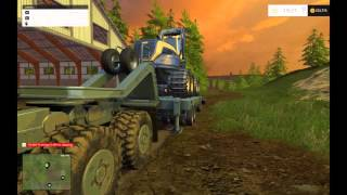 Farming Simulator 15 Episode 11 Modded Westbridge Forest Hauling Logging Equipment