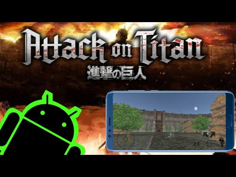 NEW Attack On Titan Android Fangame Update 3 (DOWNLOAD)