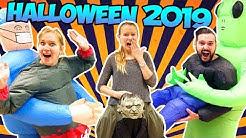 Unsere HALLOWEEN KOSTÜME 2019 Wer gewinnt die Grusel-Kostüm Challenge? mit Kathi, Kaan & Nina