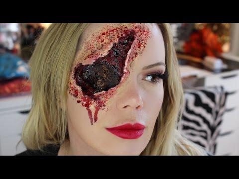 Gun Shot to Back of the Head | Blown Out Eye | Halloween