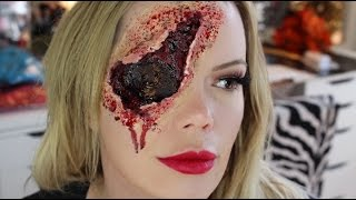Gun Shot to Back of the Head | Blown Out Eye | Halloween