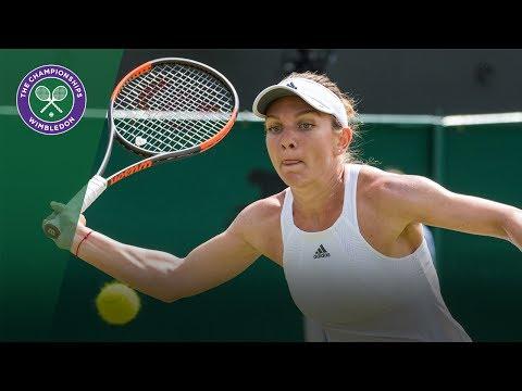 Simona Halep v Shuai Peng highlights - Wimbledon 2017 third round