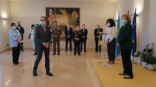 El Sespa recibe la Placa de Honor de la Orden del Mérito Civil