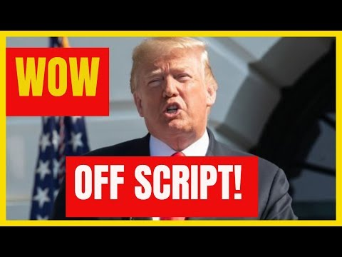 WOW 🔴  President Trump OFF SCRIPT Speech at Bring your kid to work day at the White House