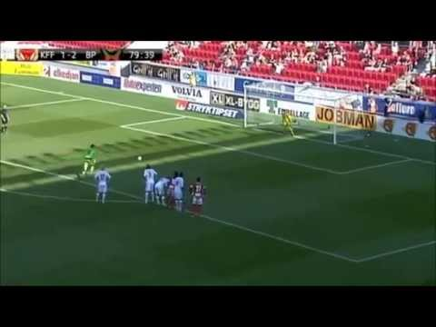 Etrit Berisha goal penalty -GOALKEEPER-