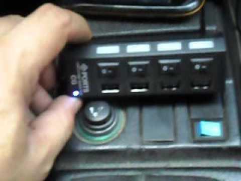 Carregador de celular para carros com v rios usb em usso youtube - Instalar puerto usb en coche ...