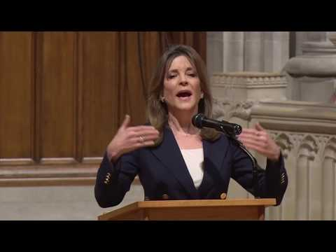 November 30, 2018: Claiming our Voices—Claiming our Truths with Marianne Williamson