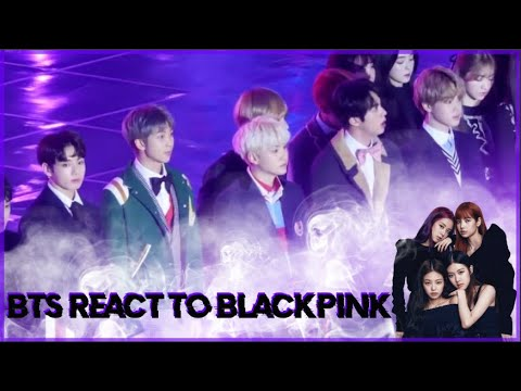 PARTE 2 COMPILATION BTS REACT TO BLACKPINK