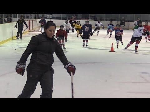 Canadian National Hockey Team member visits Sault Ste Marie