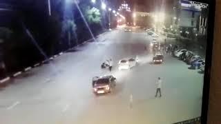 В Новочеркасске мотоциклист сбил инспектора ГИБДД 28.05.2018